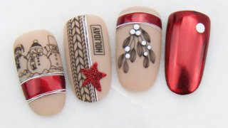Christmas magic on your nails