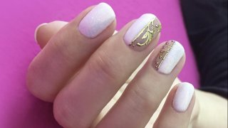 How To Make White Nail Art